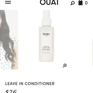Ouai Hair care products ( Offers welcome)
